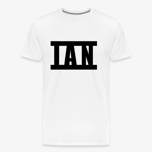 I A N Logo - Men's Premium T-Shirt