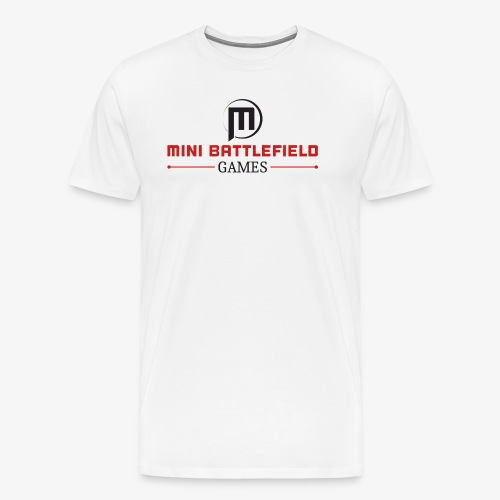 Mini Battlefield Games Logo - Men's Premium T-Shirt