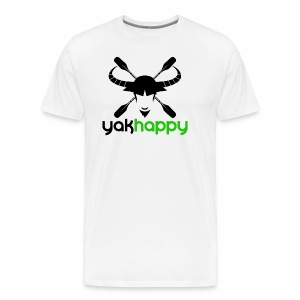 Yakhappy Logo - Men's Premium T-Shirt