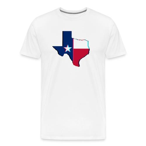 3D Texas - Men's Premium T-Shirt