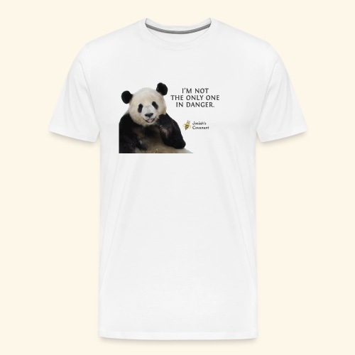 Endangered Pandas - Josiah's Covenant - Men's Premium T-Shirt