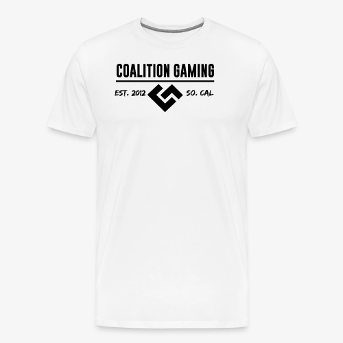 CG Logo Black No Outline - Men's Premium T-Shirt