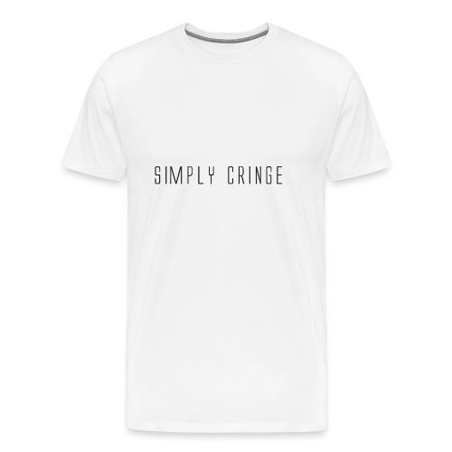Simply Cringe - Men's Premium T-Shirt