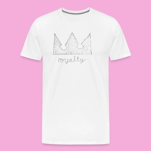 royalty crown - Men's Premium T-Shirt