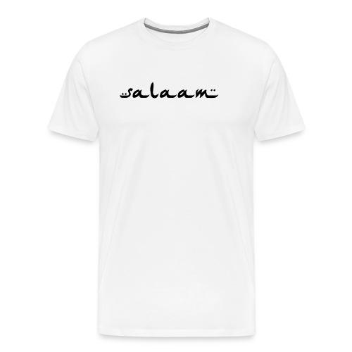 salaam black - Men's Premium T-Shirt