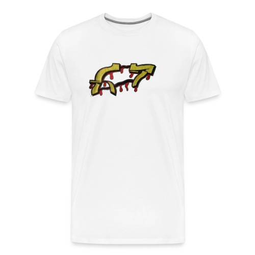 ST graffiti - Men's Premium T-Shirt