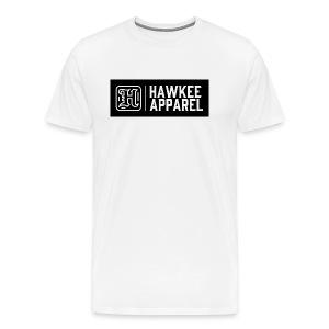 white logo dark background - Men's Premium T-Shirt