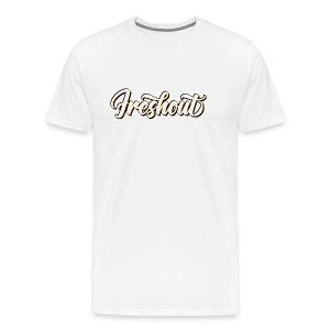 FRESHout Bubble Logo - Men's Premium T-Shirt