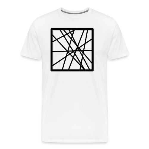 Square Line - Men's Premium T-Shirt