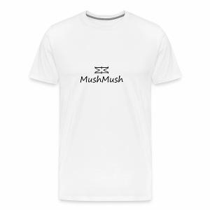 Logo On Light - Men's Premium T-Shirt