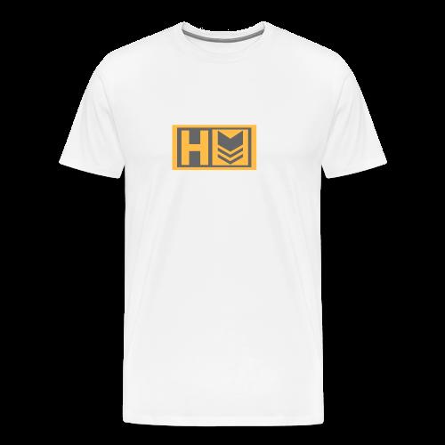 Copy of Hammer Down Logo (Small) - Men's Premium T-Shirt