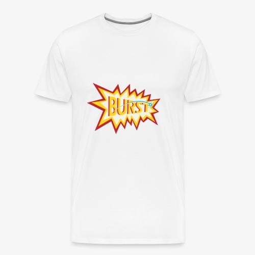 burst logo - Men's Premium T-Shirt