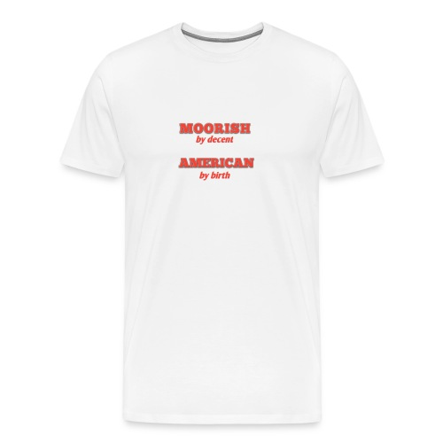 Moorish American - Men's Premium T-Shirt