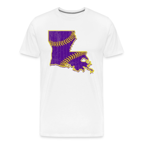 Louisiana Baseball - Men's Premium T-Shirt