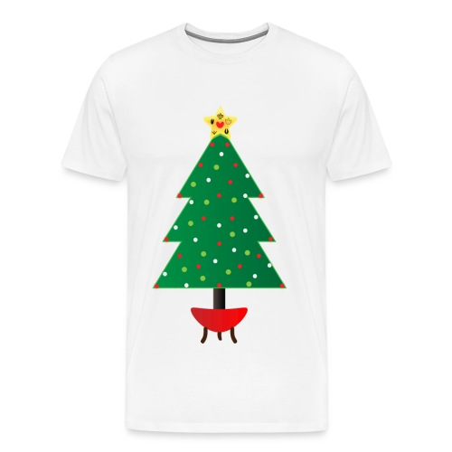 Compassion Christmas Tree - Men's Premium T-Shirt