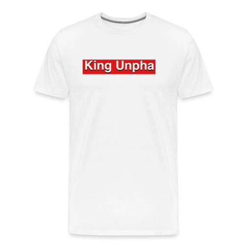This is the king unpha merch - Men's Premium T-Shirt