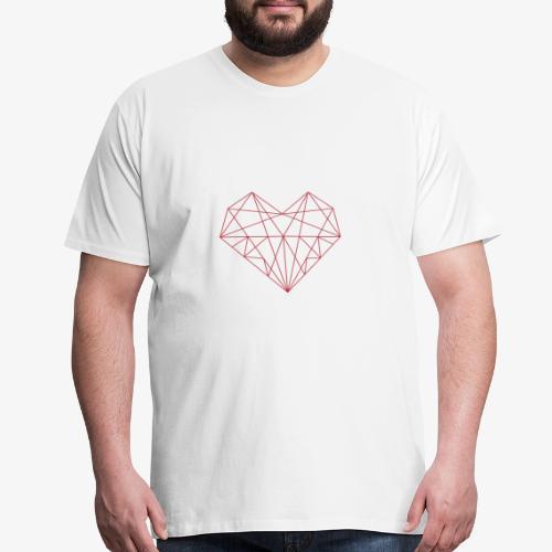 Red Heart - Men's Premium T-Shirt