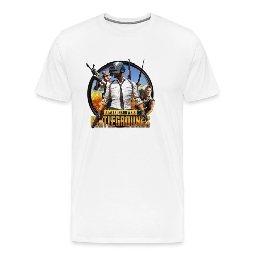 PUBG - Survive! - Men's Premium T-Shirt