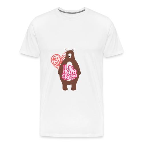 teddy bear - Men's Premium T-Shirt