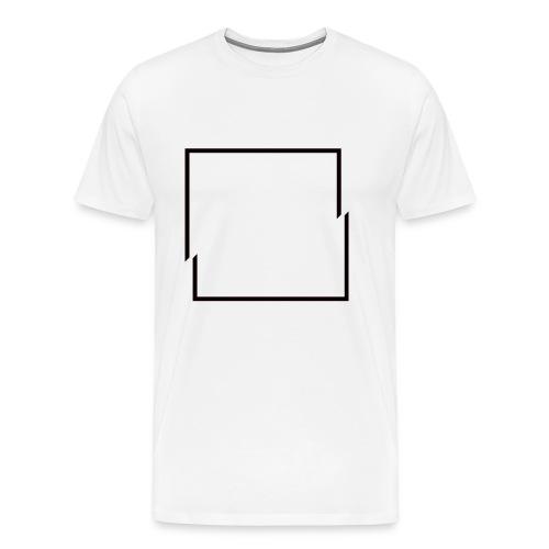 Minimal Square Shirt - Men's Premium T-Shirt