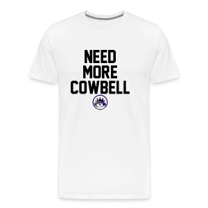 Need More Cowbell CK Collection - Men's Premium T-Shirt