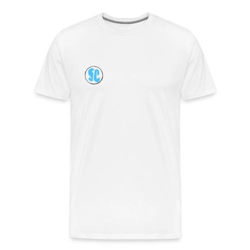 Supreme Chaotic circle logo - Men's Premium T-Shirt