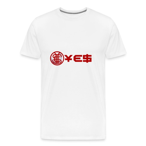 YEScoinBrand - Men's Premium T-Shirt
