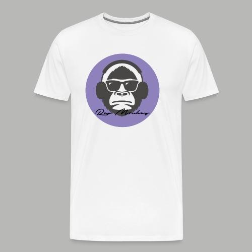Rap monkey(Ape) Men's Premium T-Shirt - Men's Premium T-Shirt