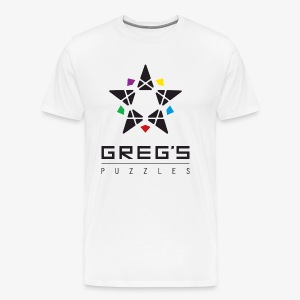 Greg's Puzzles Logo - Men's Premium T-Shirt