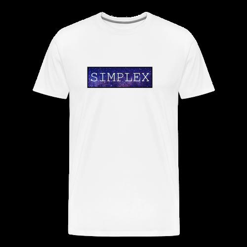 simplex space logo Tee - Men's Premium T-Shirt