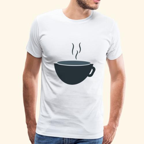 coffee cup soup - Men's Premium T-Shirt