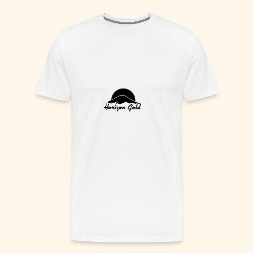Horizon Gold Logo - Men's Premium T-Shirt