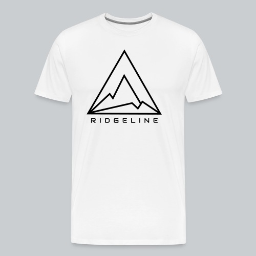 Ridgeline Black and White - Men's Premium T-Shirt