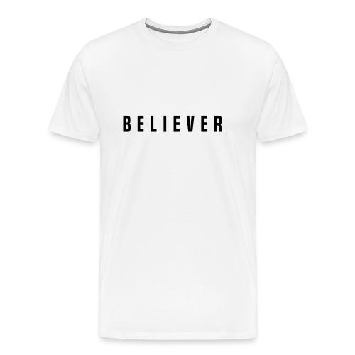believer - Men's Premium T-Shirt