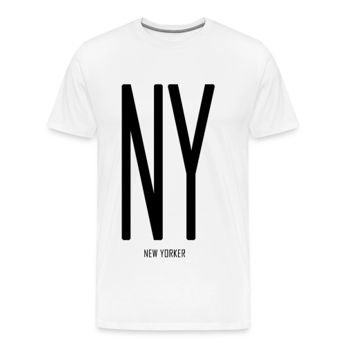NEW YORKER - Men's Premium T-Shirt