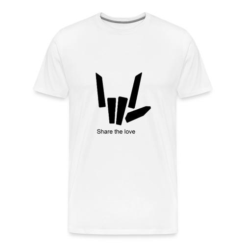 Share the love - Men's Premium T-Shirt