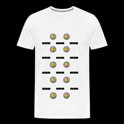 Ca$hMoney pattern V2 - Men's Premium T-Shirt