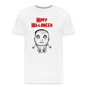 Happy Halloween T-Shirt skull - Men's Premium T-Shirt