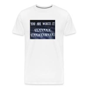 you are worth it - Men's Premium T-Shirt