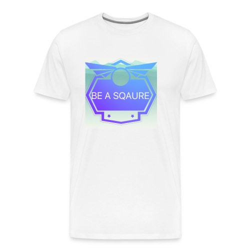 Be Sqaure - Men's Premium T-Shirt