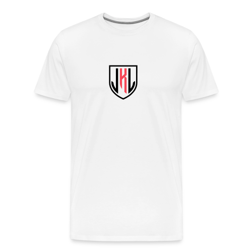 JKL typography logo - Men's Premium T-Shirt