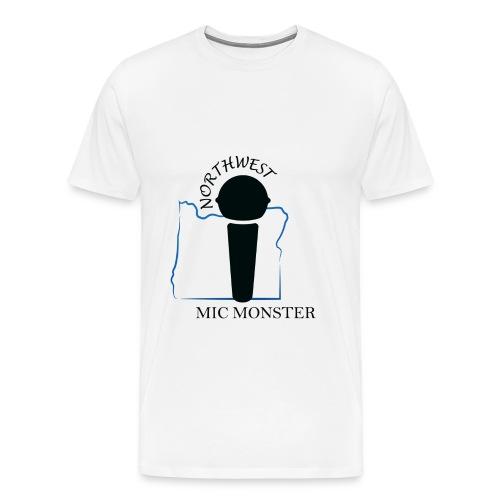 NorthWest Mic Monster Black - Men's Premium T-Shirt