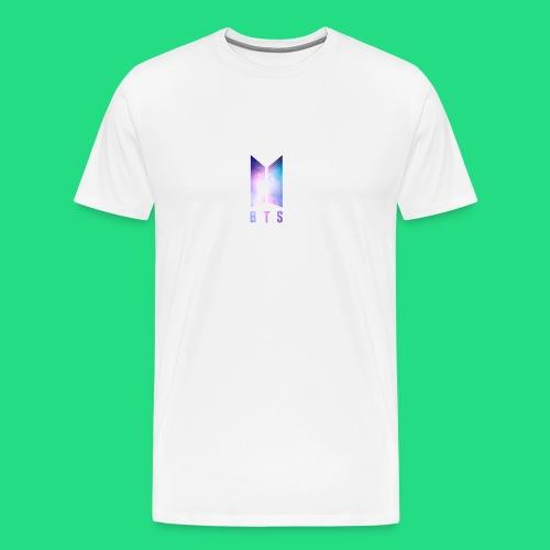 Galaxy BTS Bangtan Sonyeondan Logo - Men's Premium T-Shirt