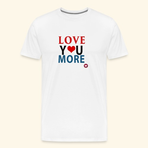 Loveyoumore - Men's Premium T-Shirt