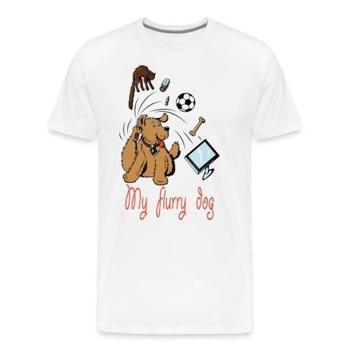 MY CUTE FURRY DOG PERFECT GIFT - Men's Premium T-Shirt