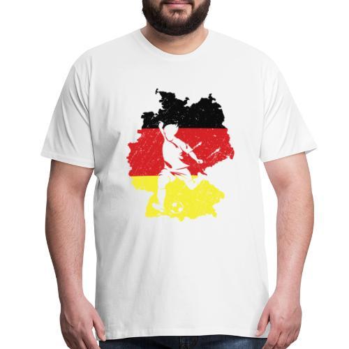 Germany football team shirt - Men's Premium T-Shirt