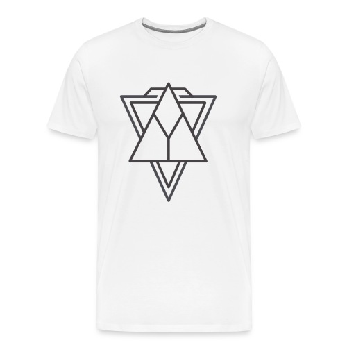 Minimalist triangle - Men's Premium T-Shirt