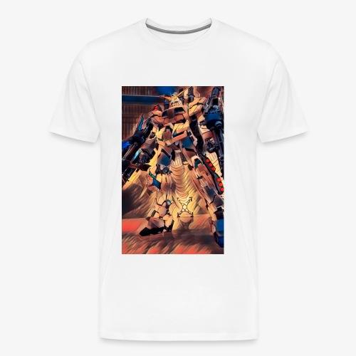 unicorn gundam - Men's Premium T-Shirt