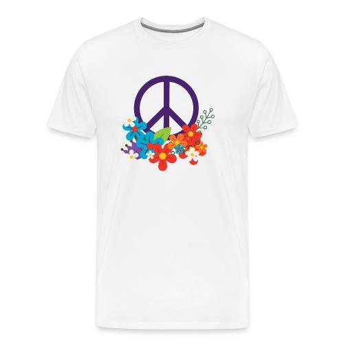 Hippie Peace Design - Men's Premium T-Shirt
