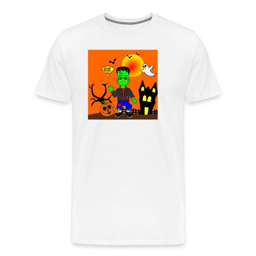 Halloween Frankenstein s Monster - Men's Premium T-Shirt